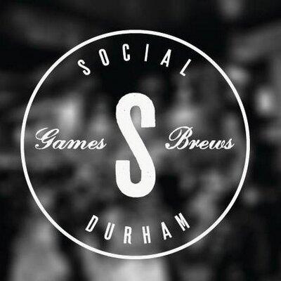 Kris N Steph play Social Games and Brews in Durham, 7/8